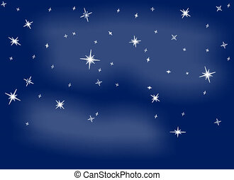 Starry Sky Flash - Starry sky and shooting star flash
