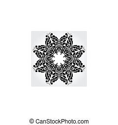 Vector lace element