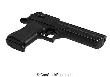 desert eagle handgun pistol isolated on a white background