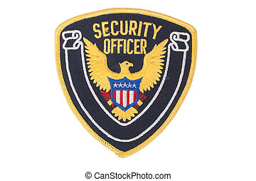 security officer uniform shoulder patch