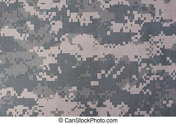nosotros, ejército, camuflado, patrón