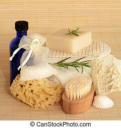 Spa Beauty Products - Natural beauty products including...
