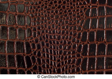 Texture background black and red snake leather