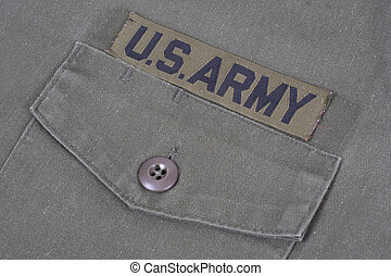 us army uniform vietnam war period
