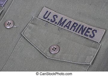 us marines uniform vietnam war period
