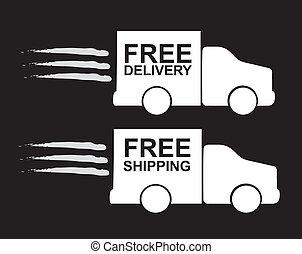 transport truck over white background vectro illustration