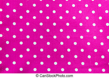 White dots on Pink Background