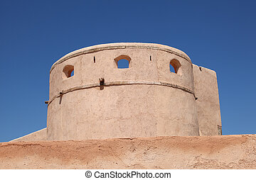 Ancient fortification in the old town of Rabat, Morocco