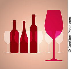 Wine background - wine background for web or print