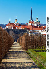 Wallenstein garden - Baroque garden in Prague Verticall...