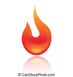 Fire symbol  - Vector illustration of Fire symbol