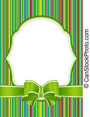 Greeting Card with Bow