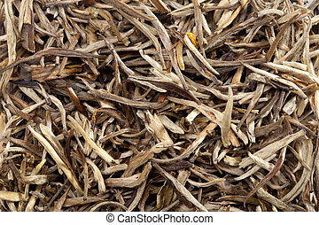 Chinese white tea background