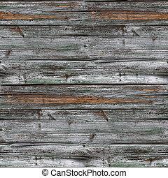 seamless, cerca, textura, gris, de madera, viejo, Plano de...