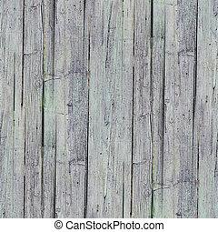seamless, cerca, textura, de madera, viejo, gris, Plano de...