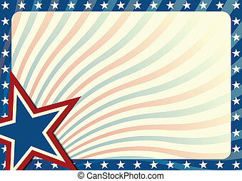 Stars and Stripes background - detailed background...