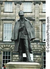 Arthur Conan Doyle - Monument dedicated to Arthur Conan...