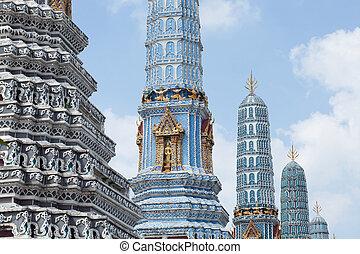 The Stupa at Grand Palace in Bangkok, Thailand