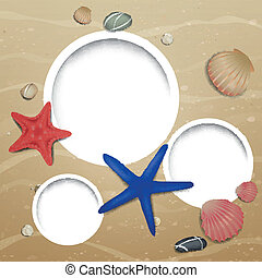 Vector Summer Beach Design