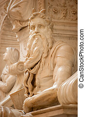 The Moses by Michelangelo