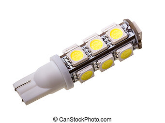 Led lamp for auto with 13 LEDs
