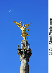 Indipendence Monument, Mexico City - MEXICO CITY - FEBRUARY...