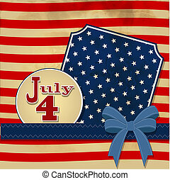American flag background with stars symbolizing 4th july...