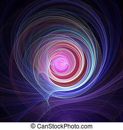universe layers - abstract colorful spiral universe layers...