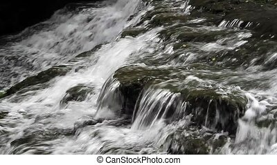 Cascading Waterfall Loop - Seamless loop features water...