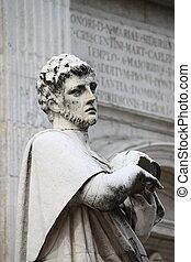 St. Augustine statue