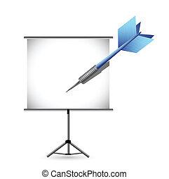 presentation concept illustration design