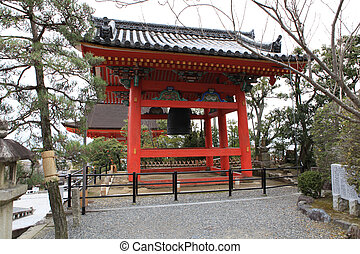 Kyomizu Temple in Winter Season kyoto Japan. built in 1633,...