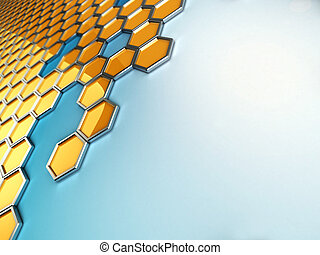 honeycombs mosaic