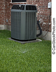 AC and sprinklers