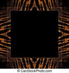 Tiger Stripe Frame