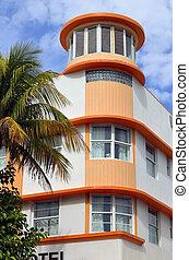 Miami Beach Nuveau Art Deco