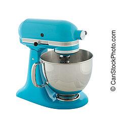 Planetary mixer - Kitchen appliances - blue planetary mixer,...