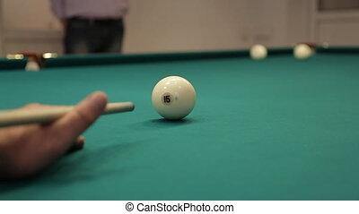 hit billiard balls sound