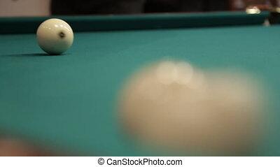 sequence hit billiard balls sound