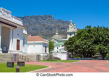 Park in Cape Town, UAR