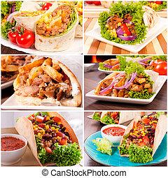 Tortilla concept - Variants of using traditional tortillas...