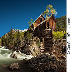Crystal Mil or Lost Horse Milll in Colorado - Crystal Mill,...