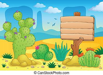 Desert theme image 3 - eps10 vector illustration.