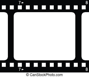 film strips - Backgroud with film strips