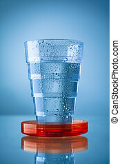 Collapsible Glass - Collapsible Plastic Glass Filled with...