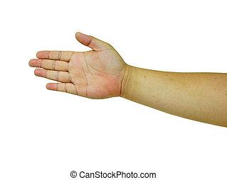 Símbolo, mão