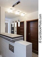 Grand design - Bathroom interior - Grand design - Modern...