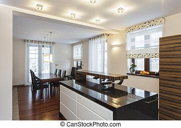 Grand design - Modern kitchen interior