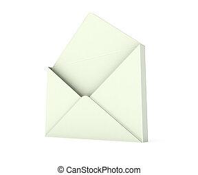 3d open envelope
