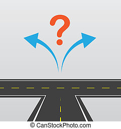Road Left Or Right